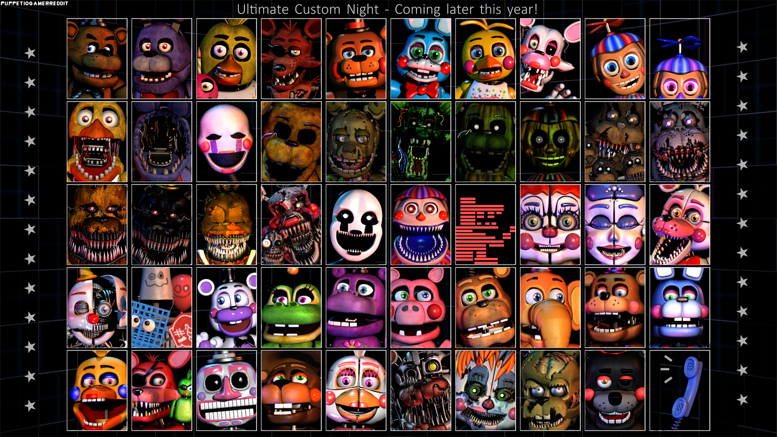 Fnaf Ultimate Custom Night Free Download Selfiepacific